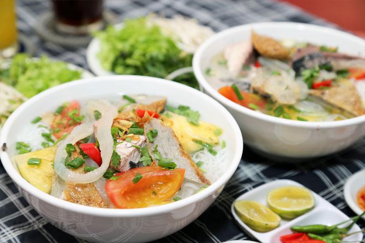 Bánh canh cá dầm -