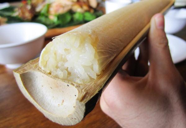 Cơm lam- đặc sản Buôn Ma Thuột