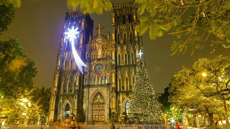 Nhà thờ lớn - Địa điểm Đi chơi Noel tại Hà Nội