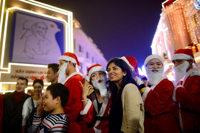 Giáng sinh tại phố đi bộ