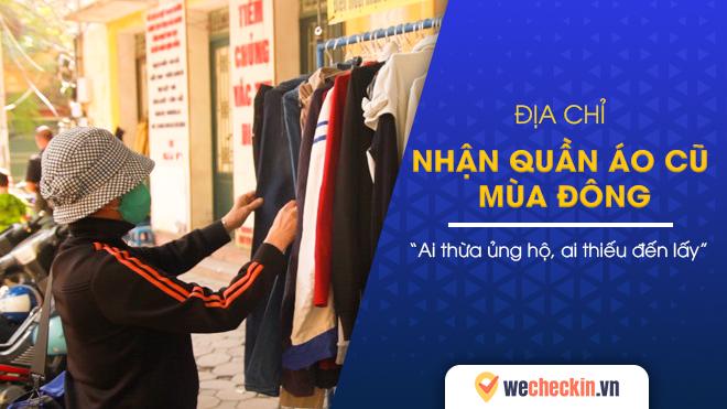 Địa chỉ nhận quần áo cũ mùa đông Hà Nội