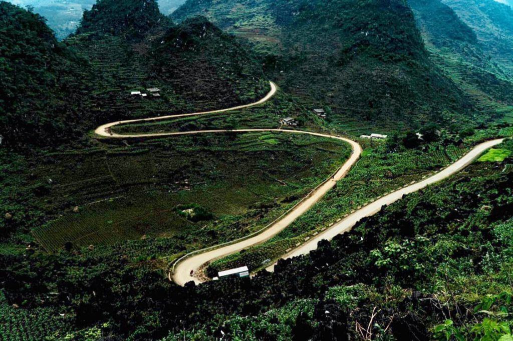 con đường chữ M ở Hà Giang