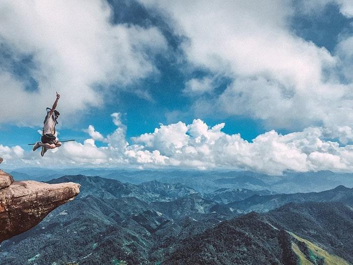 Đỉnh Pha Luông không phải là một ngọn núi quá cao và khó như các núi khác ở miền Bắc