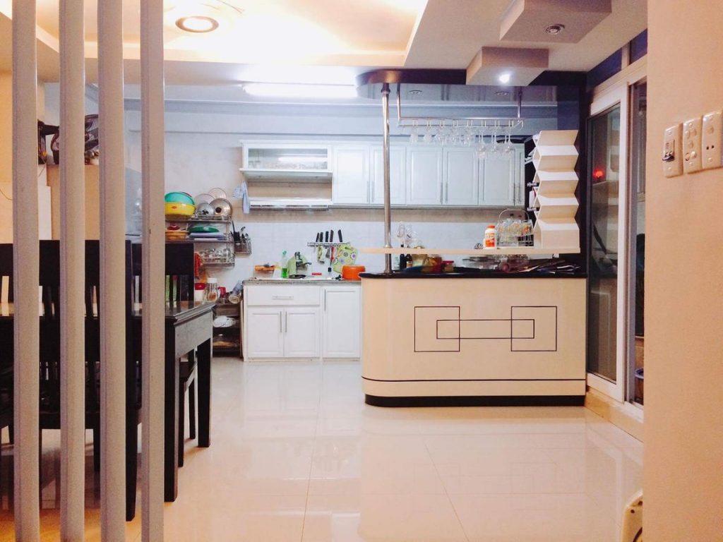 Khu nhà bếp của Branchiee rất tiện lợi