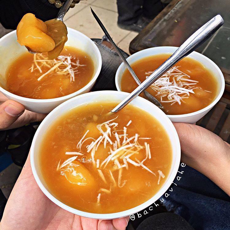 Mùa đông Hà Nội ăn gì ngon? Chè sắn