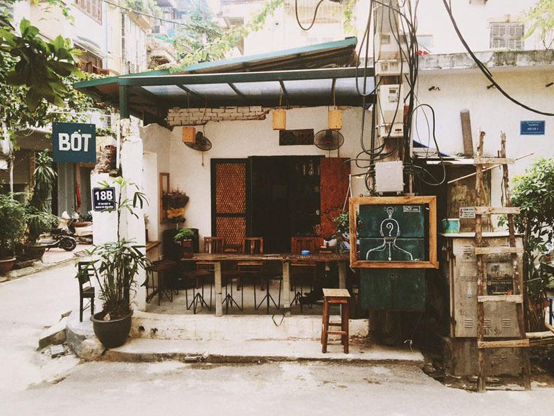 Quán cafe bao cấp Hà Nội