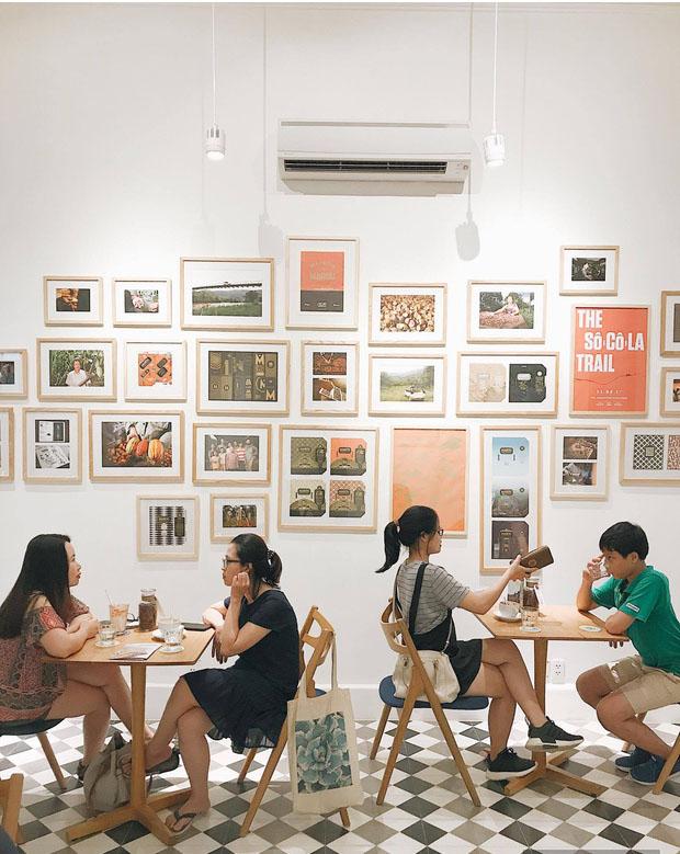 Quán cafe đẹp ở Hà Nội - Maison Marou Hanoi