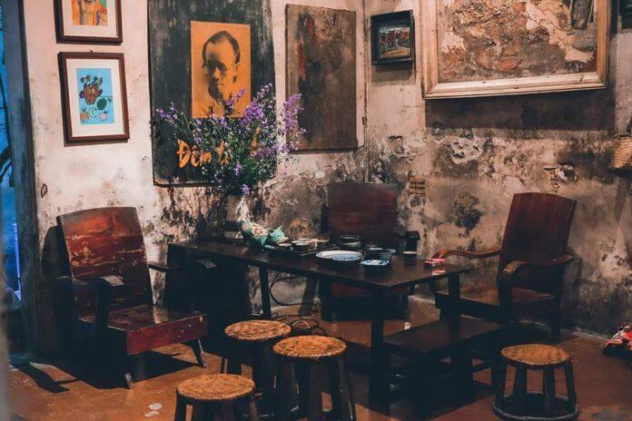 Một góc ở Cafe Cuối Ngõ