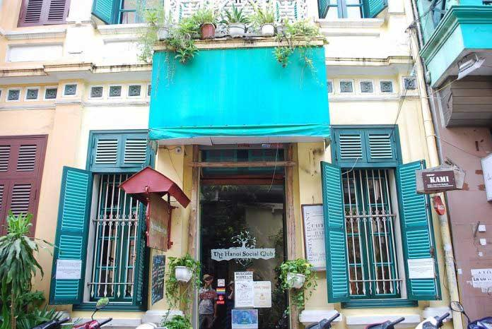 Mặt tiền của The Hanoi Social Club