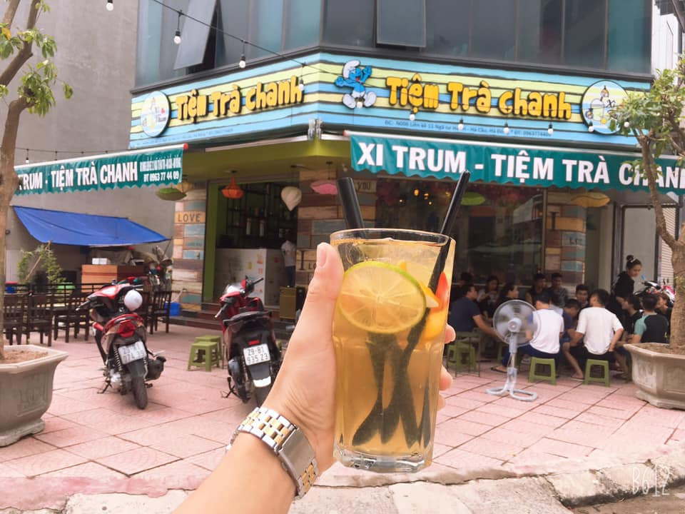 Tiệm trà chanh Xì Trum