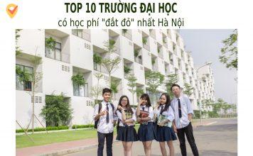 Trường đại học có học phí đặt nhất Hà Nội