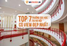 Trường đại học có view đẹp nhất Hà Nội