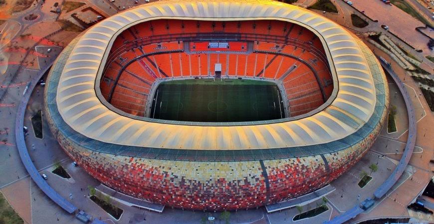 FNB Stadium- tổng thể kiến trúc phải gọi là đỉnh cao của nghệ thuật