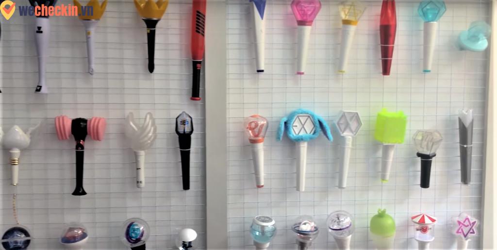 cửa hàng bán đồ Kpop