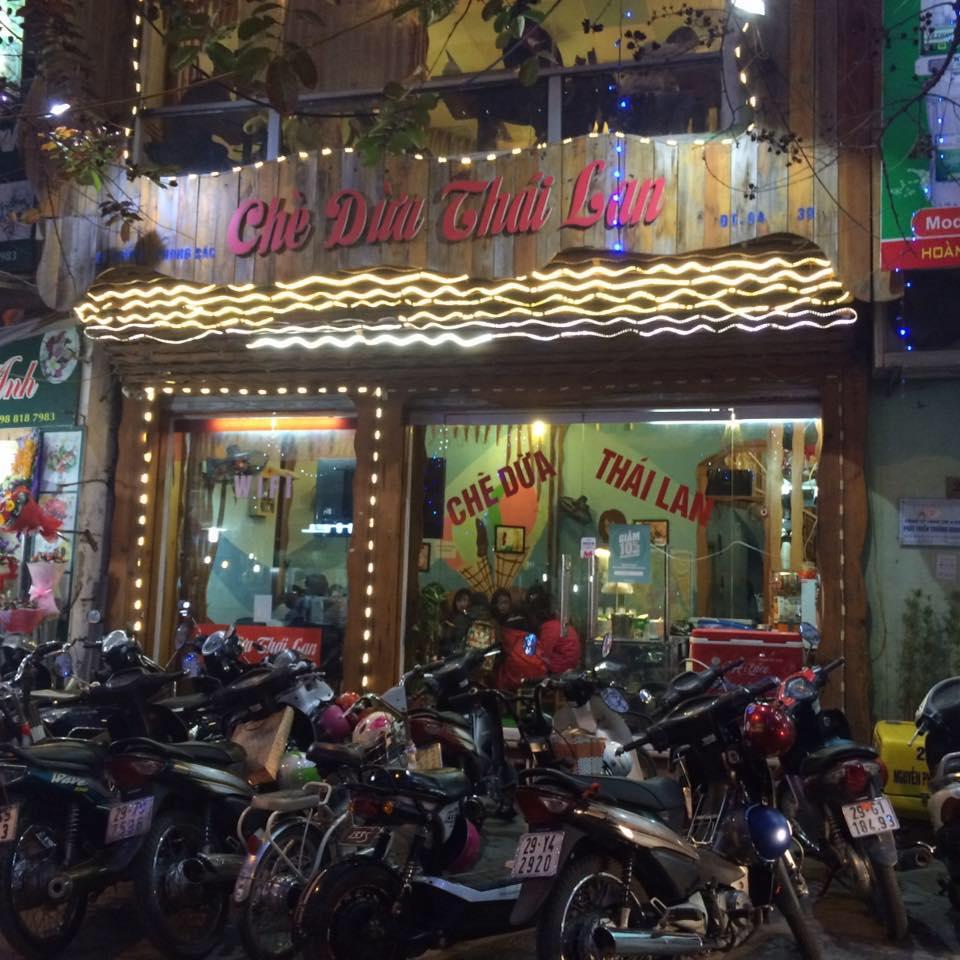 Chè dừa Thái Lan