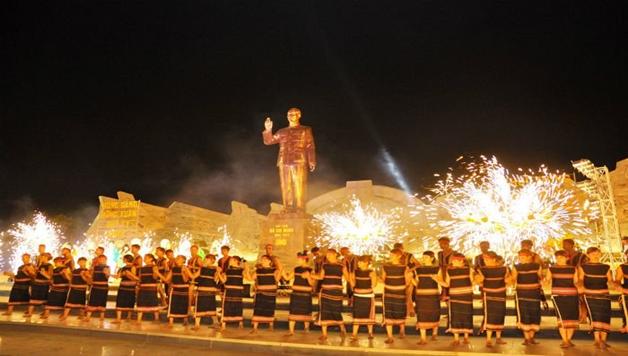 Không khí chào đón xuân tại Quảng trường