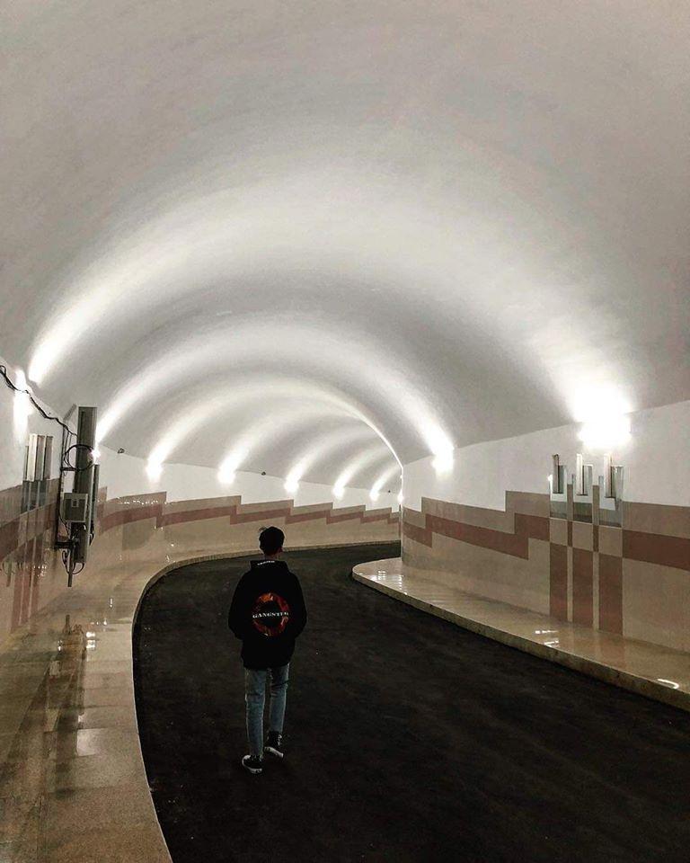 Đường hầm dưới lòng đất