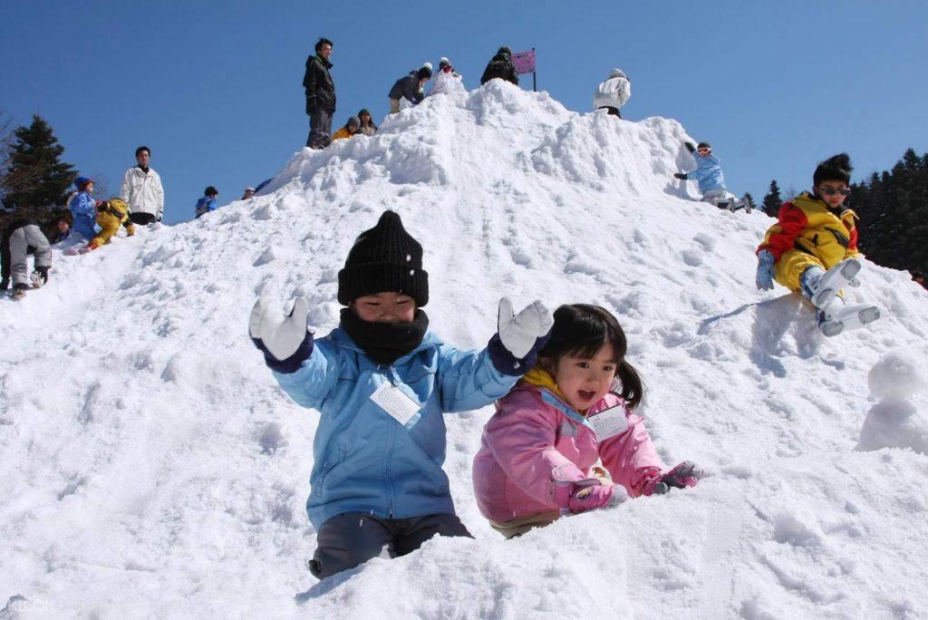 Thỏa sức vui chơi tại Núi Phú Sĩ