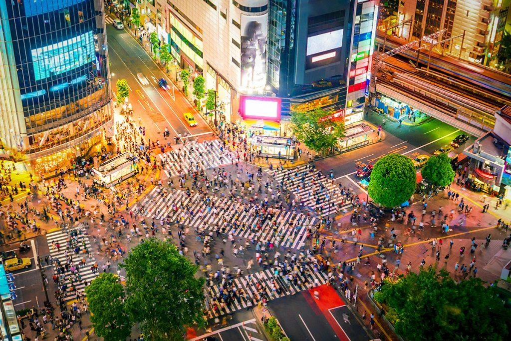 Tokyo một trong những trung tâm mua sắm nổi tiếng của châu Á