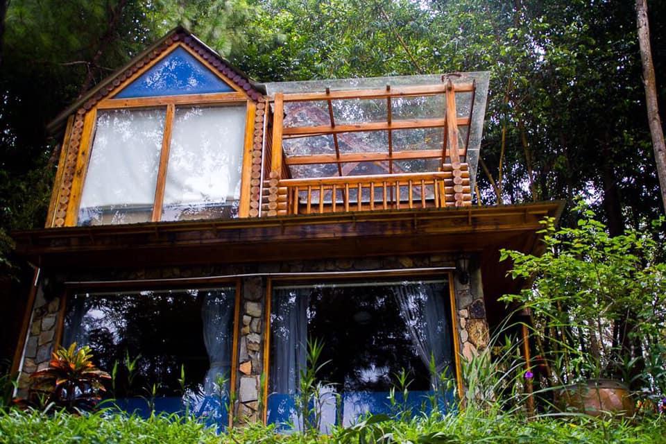 Khu nghỉ dưỡng trong rừng cũng là một địa điểm sống ảo lý tưởng nơi đây.