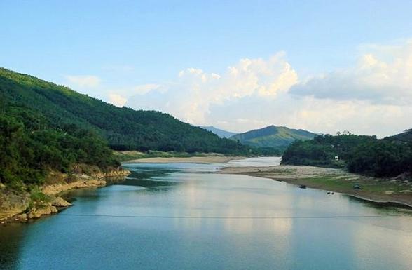 Thượng nguồn của sông Thu Bồn