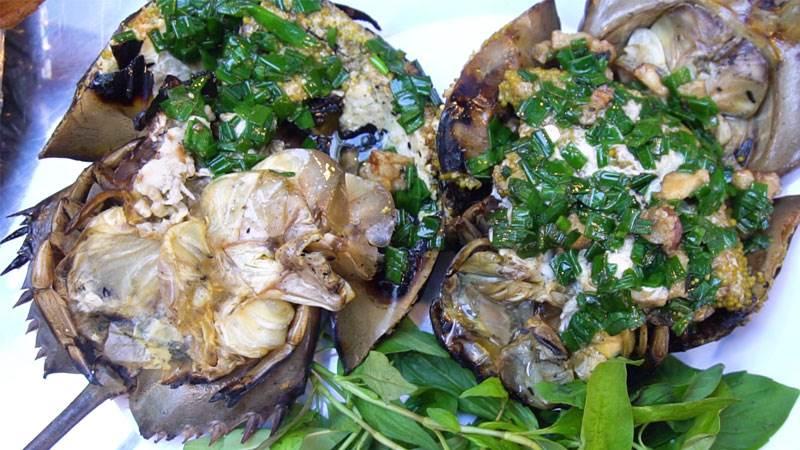 Món ăn được chế biến từ sam cực kỳ lạ mắt