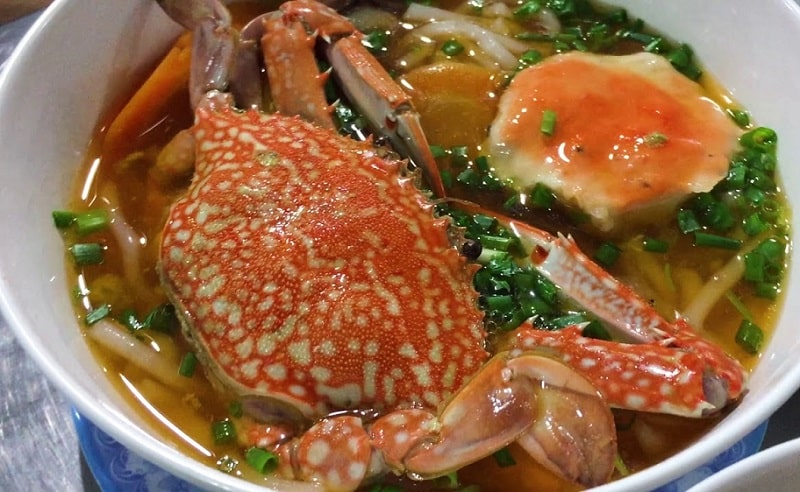 Bánh canh ghẹ Hà Nội