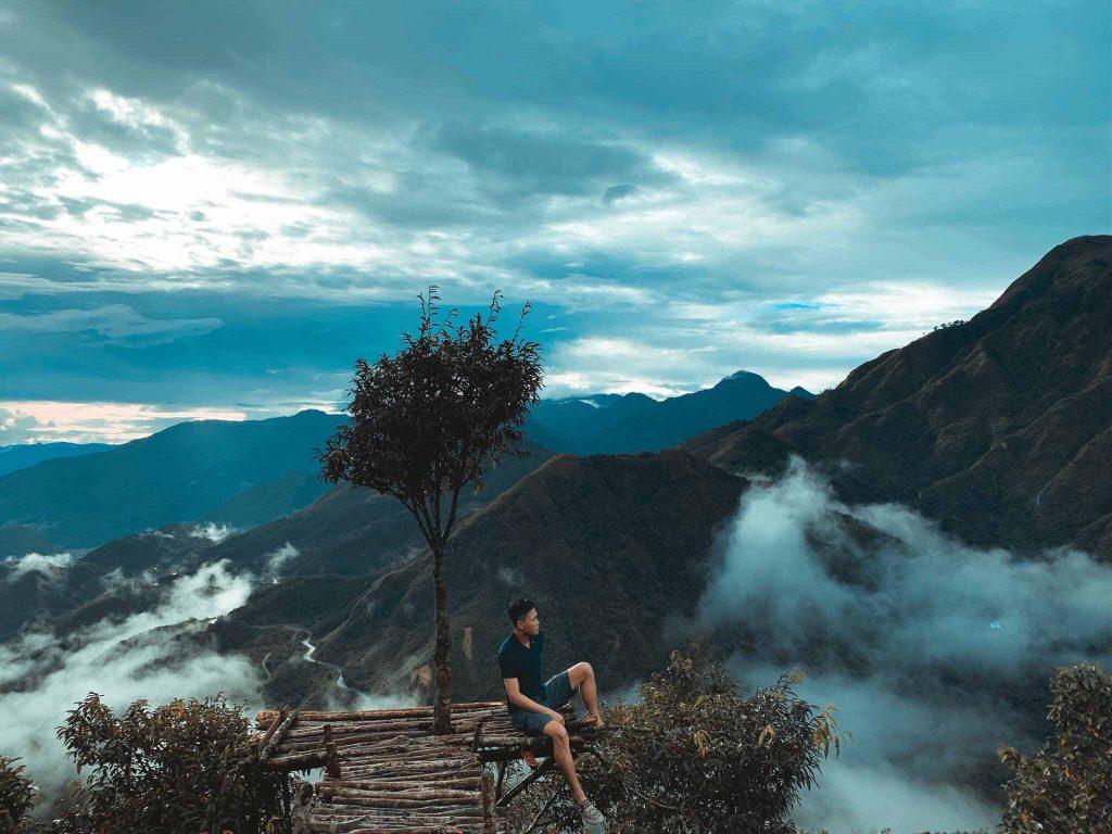 Cây cô đơn dọc Việt Nam - cây cô đơn Sapa