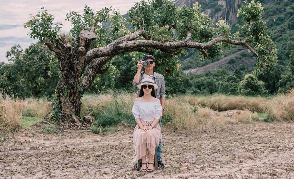 Cảnh đẹp hồ Soài Chek An Giang