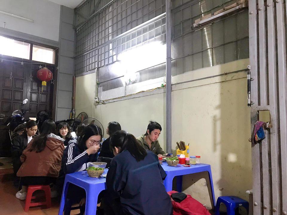quán cháo lòng Hà Nội