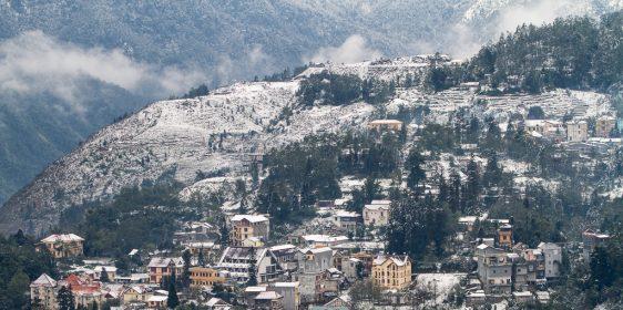 Địa điểm xuất hiện băng tuyết ở Việt nam