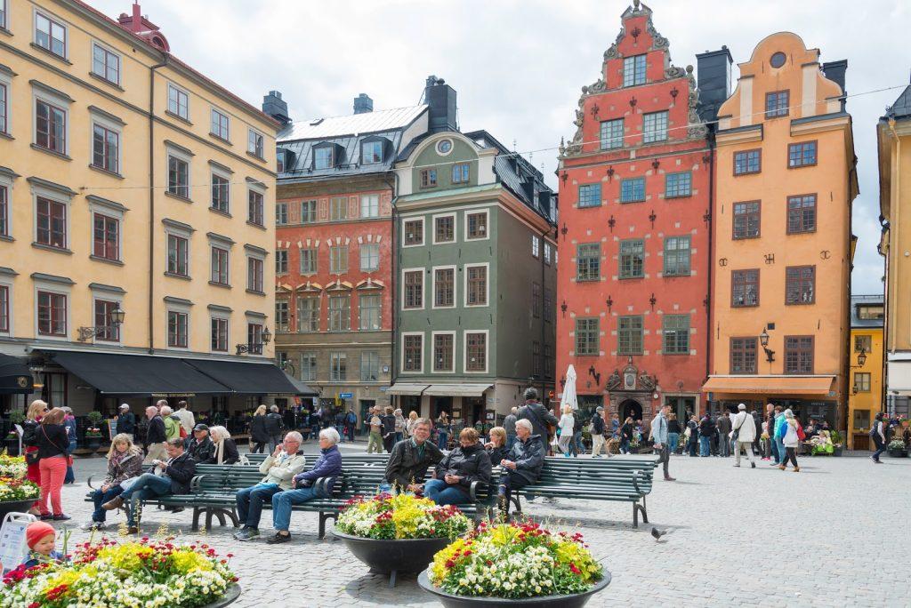 Một góc ở khu Stortorget