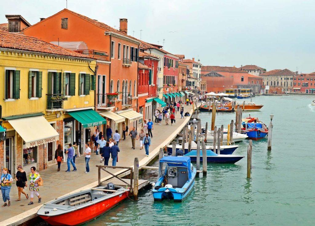 Một góc nhìn về đảo Murano