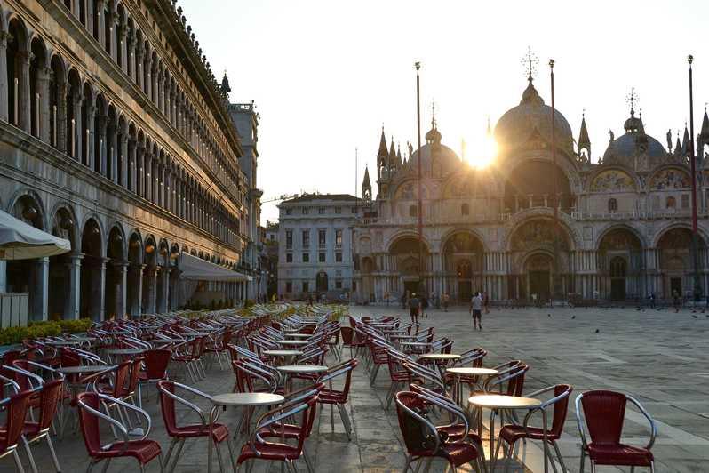 Một góc của quảng trường San Marco