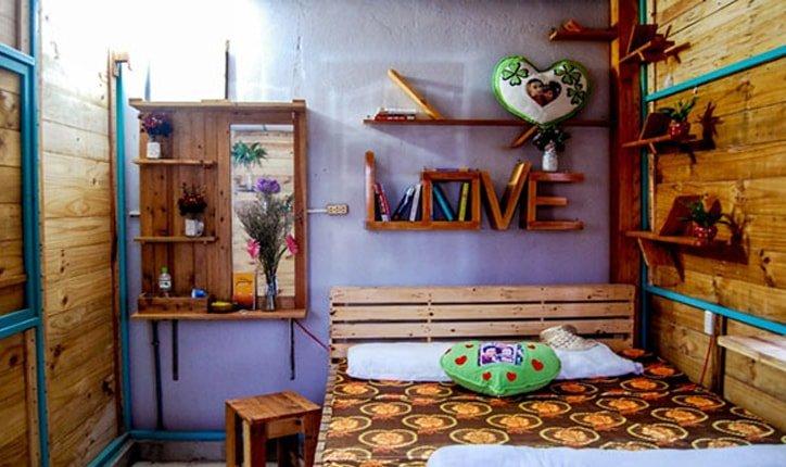 Phòng ngủ cực kỳ vintage của Hanigo