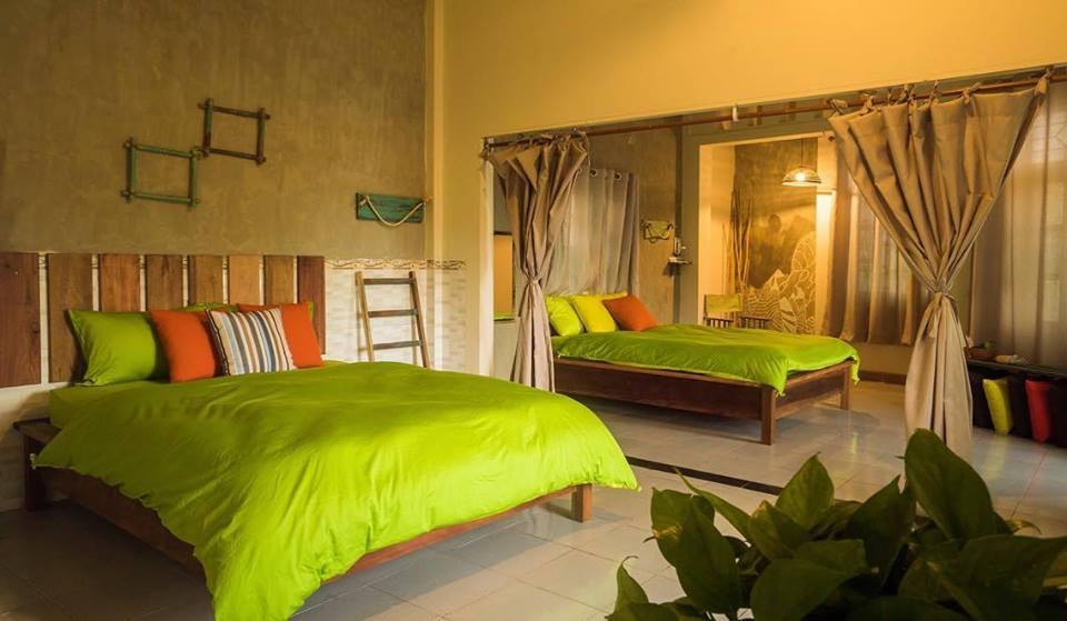 Phòng ngủ tại Quy Nhơn Bed & Room Homestay