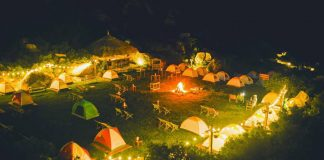 khu cắm trại ở Quy Nhơn