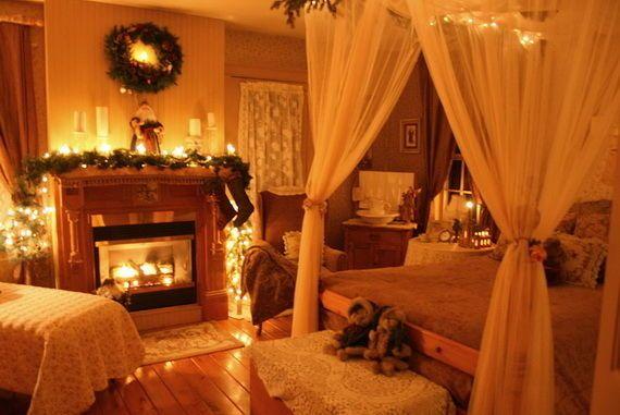 Một giấc ngủ ngon chính là lời kết tuyệt vời nhất cho đêm giáng sinh ấm cúng