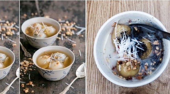 Quán bánh trôi tàu ngon Hà Nội
