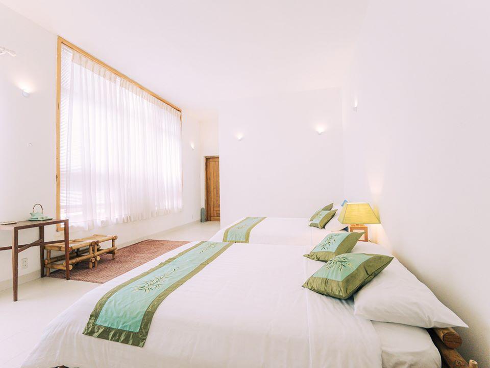 Phòng bamboo- đầy đủ tiện nghi