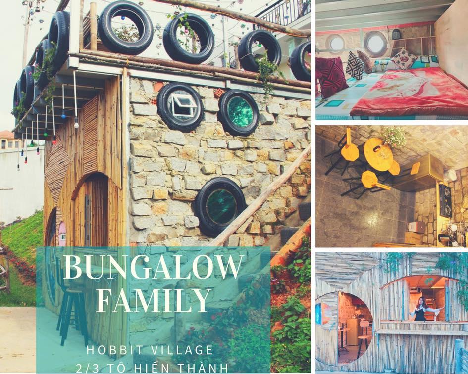 trải nghiệm ngay Bungalow Family của làng Hobbit