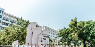 Trường đại học Đà Nẵng view đẹp