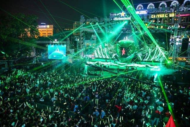 Bữa tiệc âm nhạc được nhiều bạn trẻ mong đợi