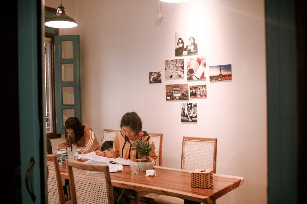 Không gian của Lami Coffee