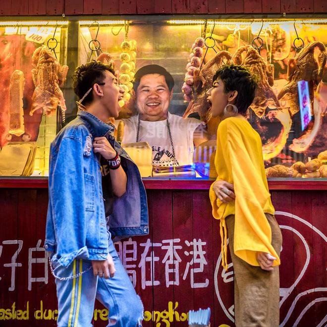 Chụp ảnh hot nhất dịp Tết - Hẻm bia HongKong
