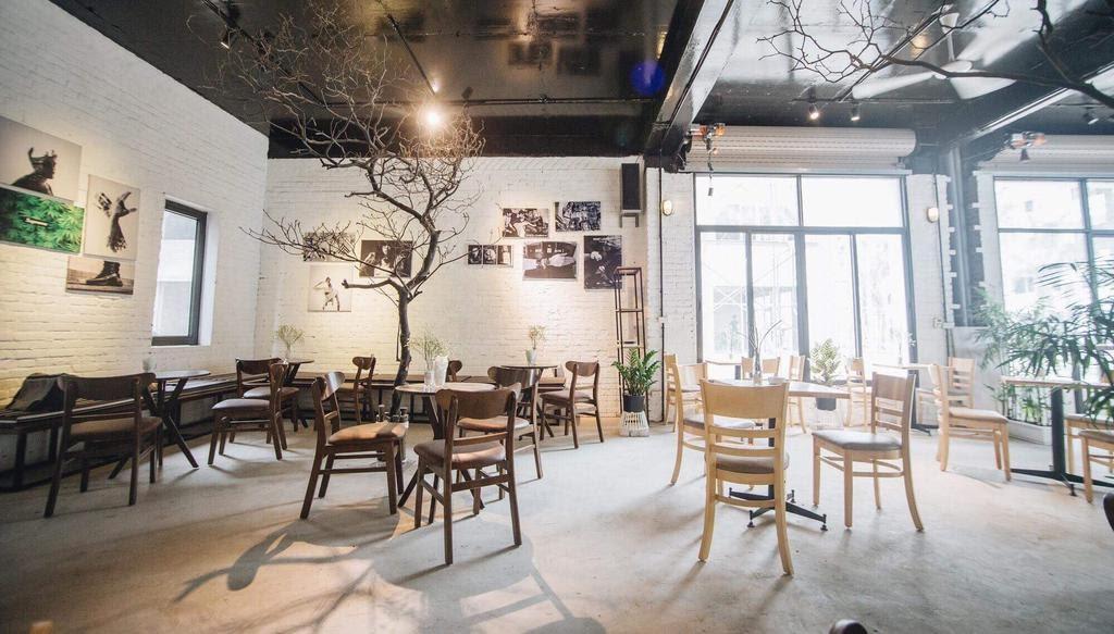 Không gian quán cafe của Otoke