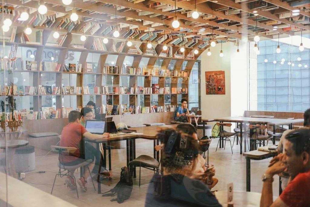 Quán cafe làm việc cho Freelancer tại Hà Nội - Work Cafe