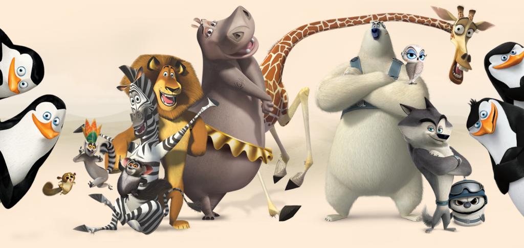 Trong series Madagascar, 4 chú chim cánh cụt là nhóm khởi xướng kế hoạch trốn thoát khỏi vườn thú