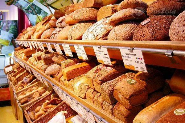 Đức có rất nhiều loại bánh mì, đa dạng lựa chọn