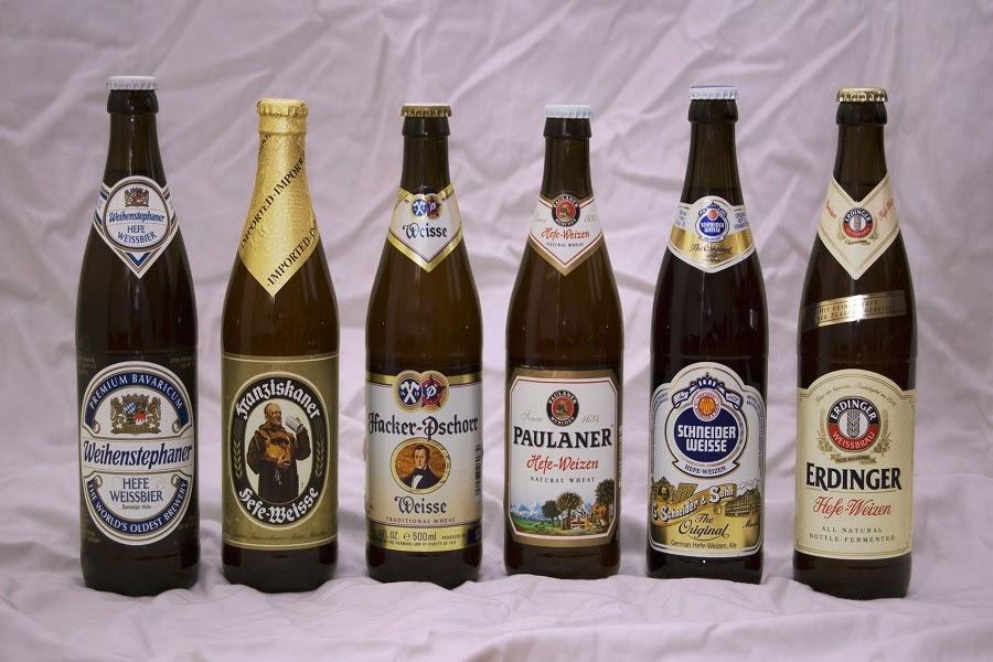Các loại bia nổi tiếng nhất ở Đức